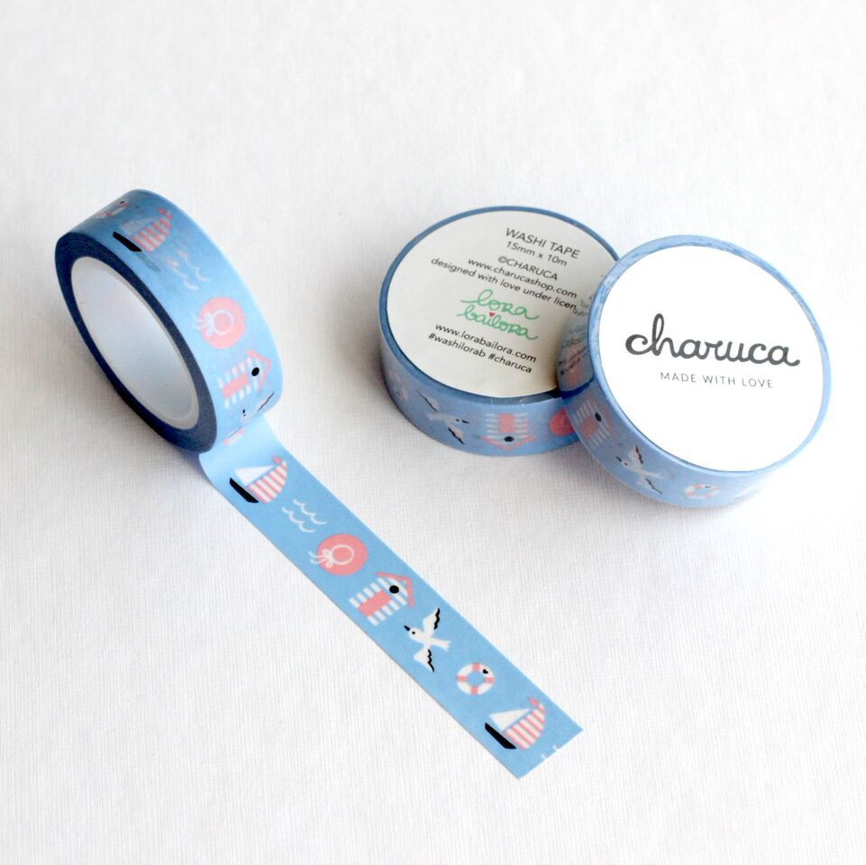 Washi tape. Sweet nautic