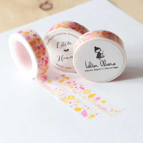 Washi tape Little Hannah - Aki