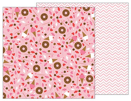 Papel de 30x30 Sweet Treats. My Funny Valentine
