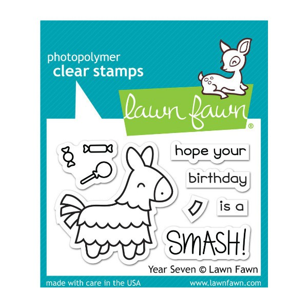 Year Seven Stamps - Lawn Fawn