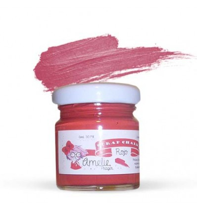 Amelie Scrap Chalk 51 rojo 30 ml