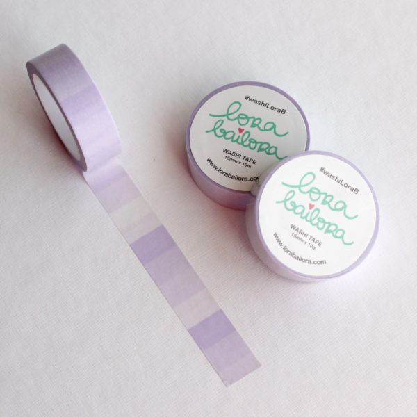 Washi tape Degradado Morado