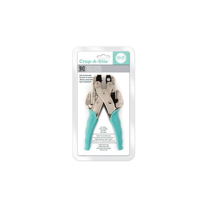 Crop A Dile Eyelet Snap Punch teal