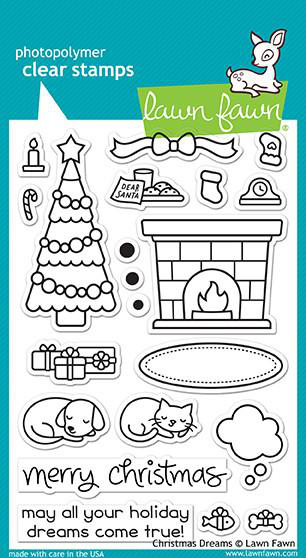 Christmas Dreams Stamps-  Lawn fawn