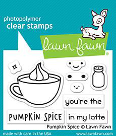 Pumpkin Spice Stamps - Lawn fawn