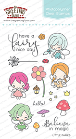 Sellos The Greeting Farm - Little Fairies