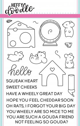 Hello Squeakheart Stamp Set