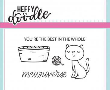 Mewniverse Stamp Set