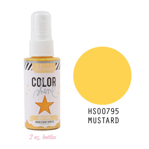 Tinta Color Shine Mustard