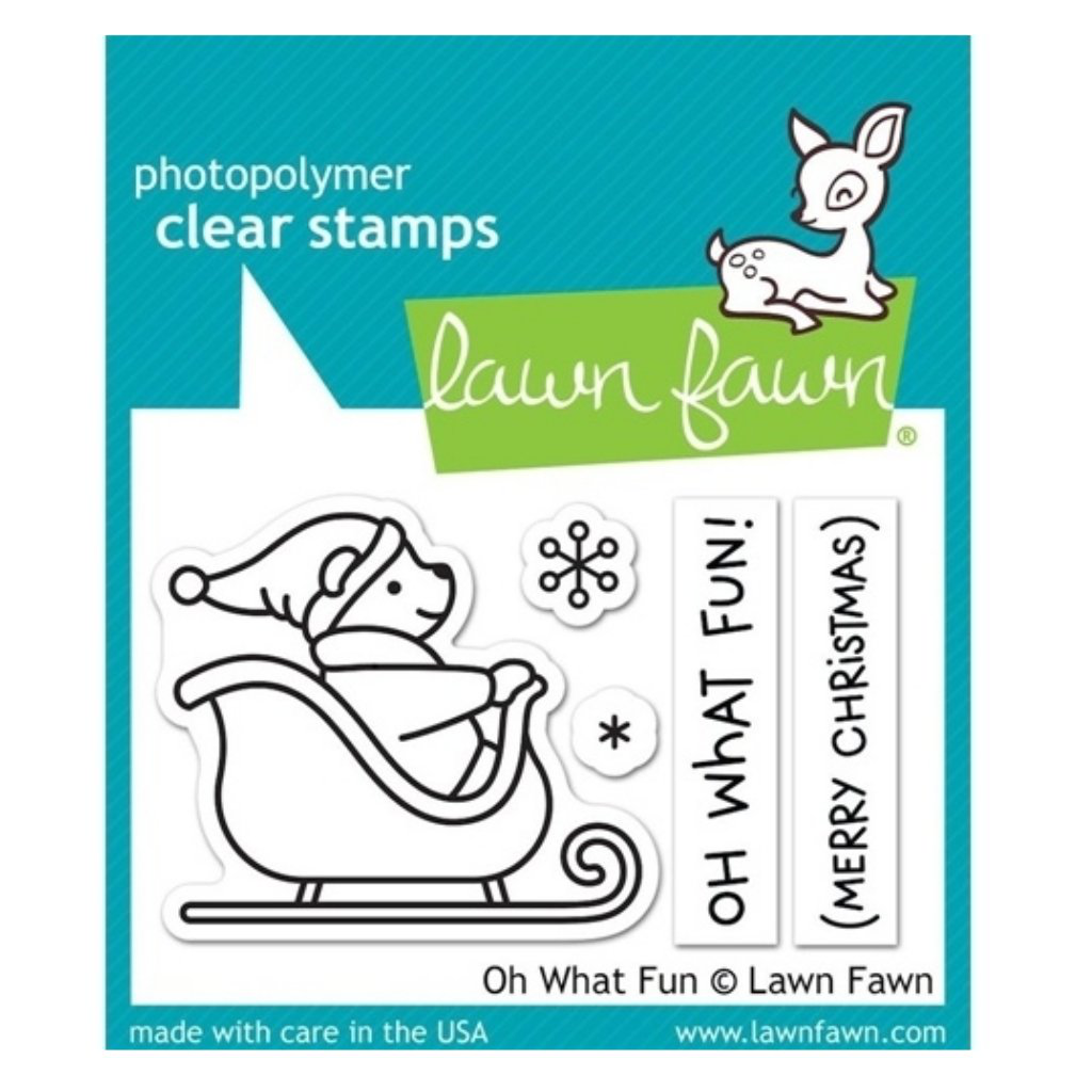 Sellos Lawn Fawn - Oh What Fun
