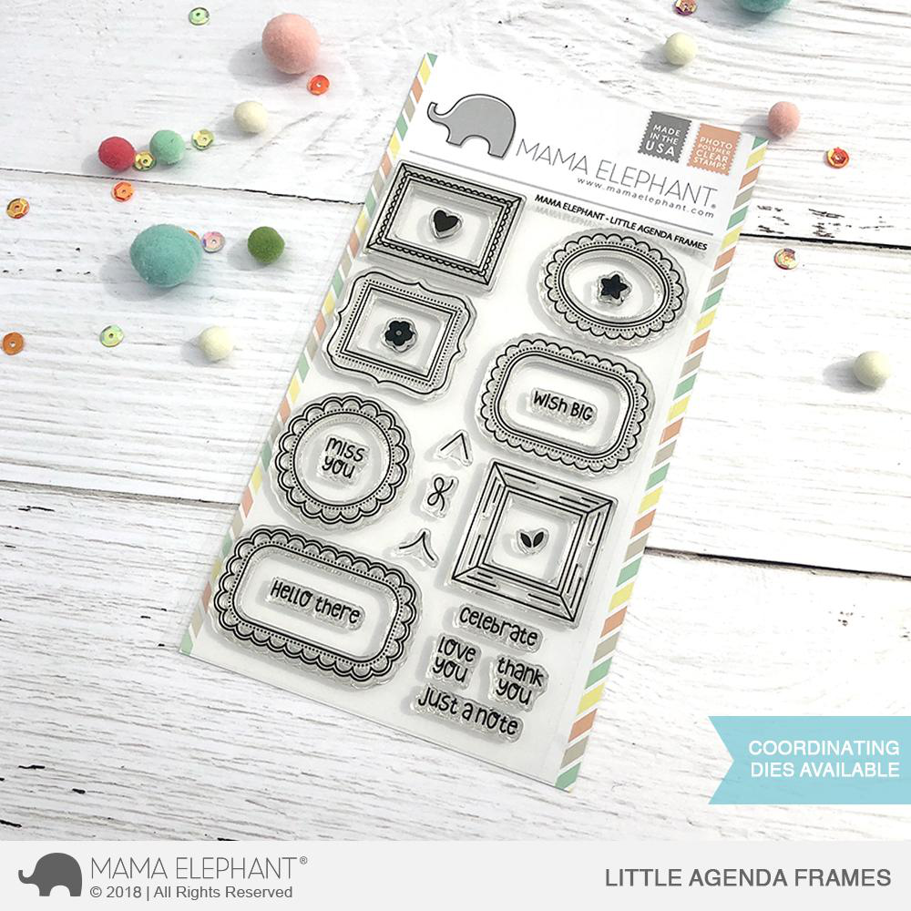 Sellos Mama Elephant - Little Agenda Frames