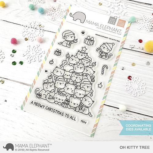 Sellos Mama Elephant - Oh Kitty Tree
