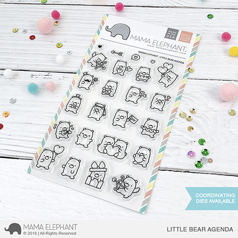 Sellos Mama Elephant - Little Bear Agenda