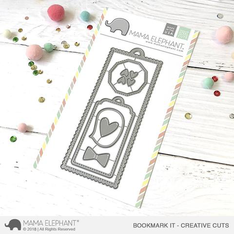 Mama Elephant - Bookmark It- Creative Cuts