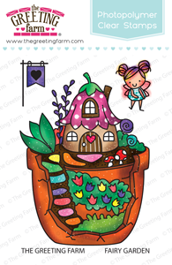 Sellos The Greeting Farm - Fairy Garden