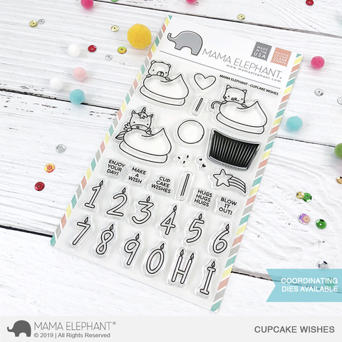 Sellos Mama Elephant - Cupcake Wishes