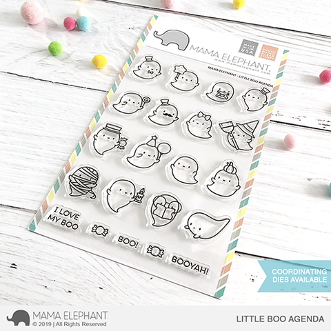 Sellos Mama Elephant - Little Boo Agenda
