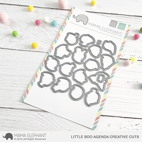 Mama Elephant - Little Boo Agenda - Creative Cuts