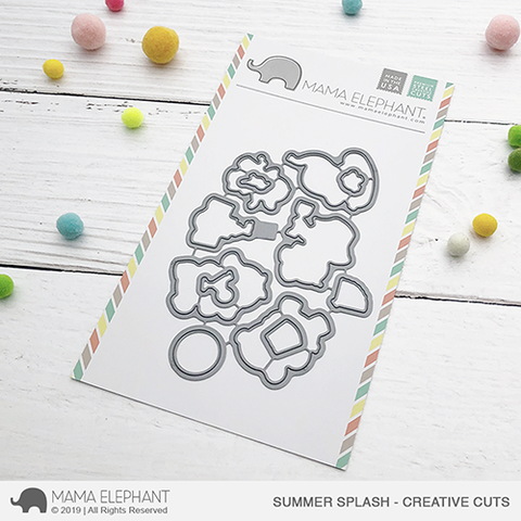 Mama Elephant - Summer Splas - Creative Cuts