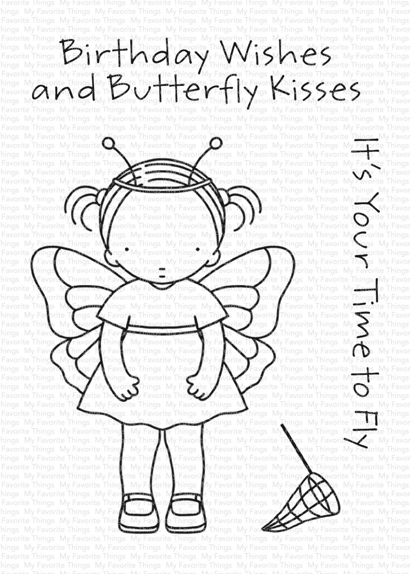 Set de sellos My Favorite Things - PI Butterfly Kisses
