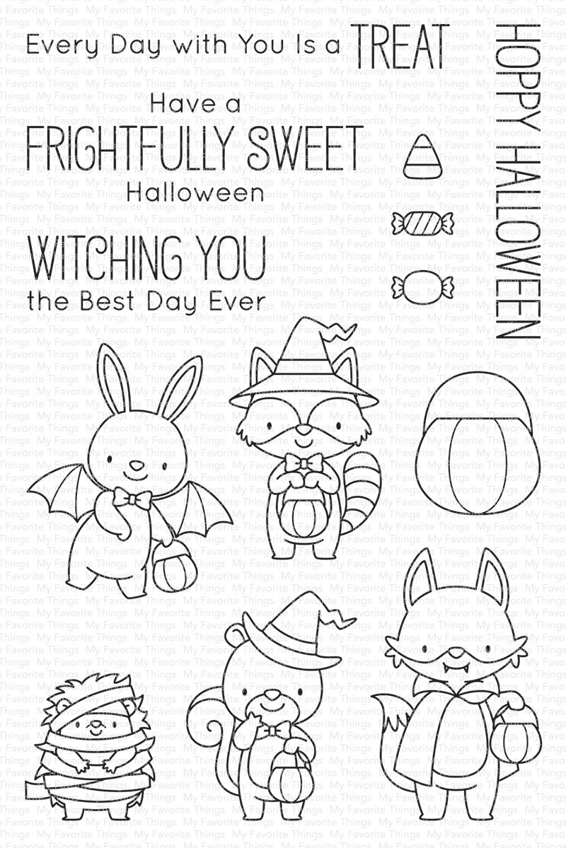 Set de sellos My Favorte Things - BB Frightfully Sweet