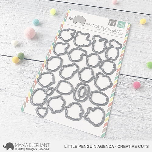 Mama Elephant - Little Penguin Agenda - Creative Cuts
