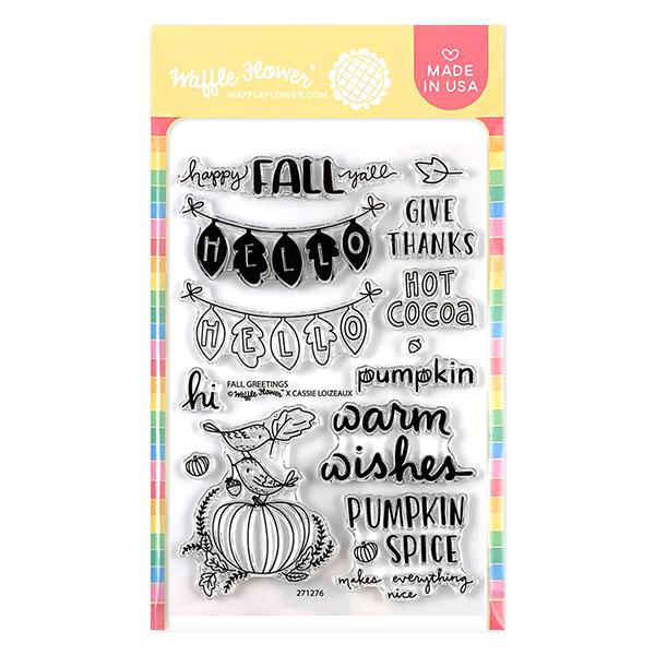 Fall Greetings Stamp Set