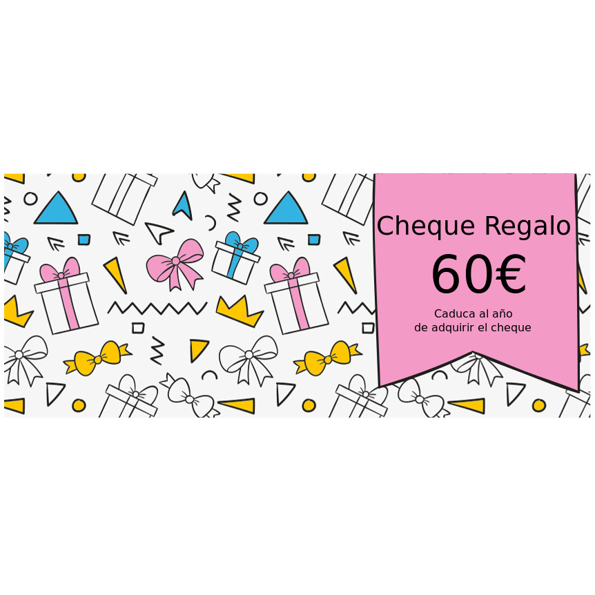 Cheque Regalo 60