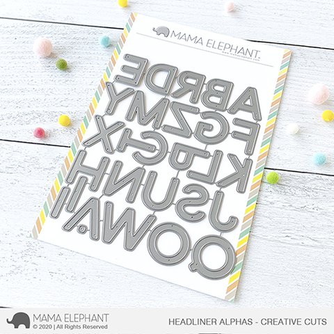Mama Elephant - Headliner Alphas - Creative Cuts