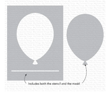 Stencil - Big Balloon
