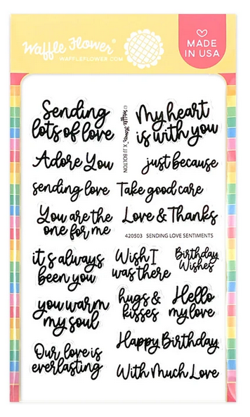Sending Love Sentiments Stamp Set