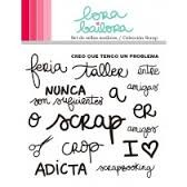 Lora Bailora - Set de sellos scrap