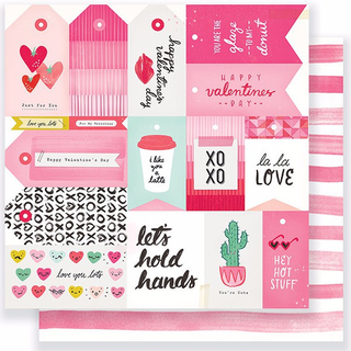 Papel de 30x30 La La love. Heart Day