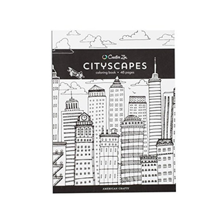 Cityscapes Color Book