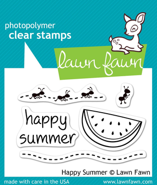 Sellos Happy Summer - Lawn Fawn
