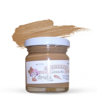 Amelie Acrílico 32 Terracota. 30 ml