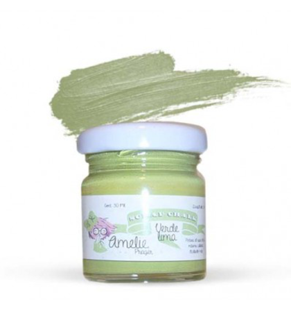 Amelie Scrap Chalk 34 Verde Lima 30 ml