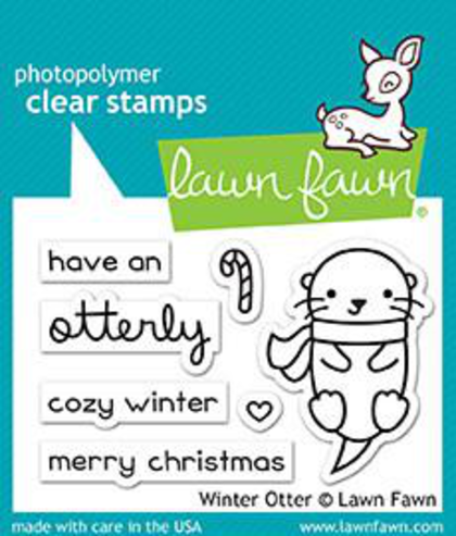 Winter Otter Stamps - Lawn Fawn