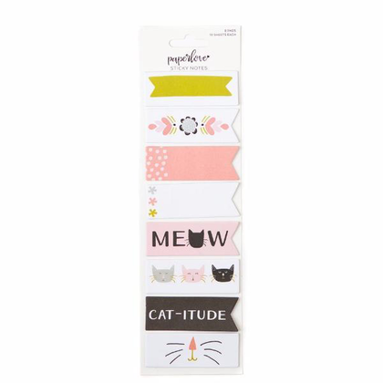 Paper Love Meow Sticky Notes