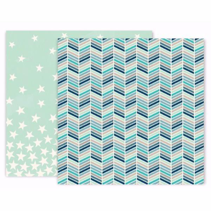 Papel Cold Chevron Turn The Page