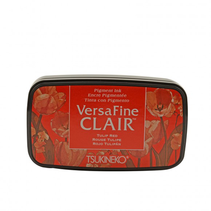 Tinta VERSAFINE CLAIR color rojo tulipán
