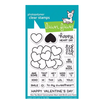 How you Bean? Conversation Heart add-on Stamps