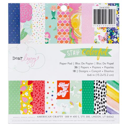 Mini Paper Pad Stay Colorful
