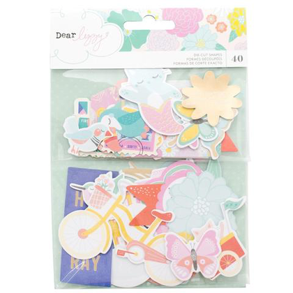 Die Cuts Stay Colorful