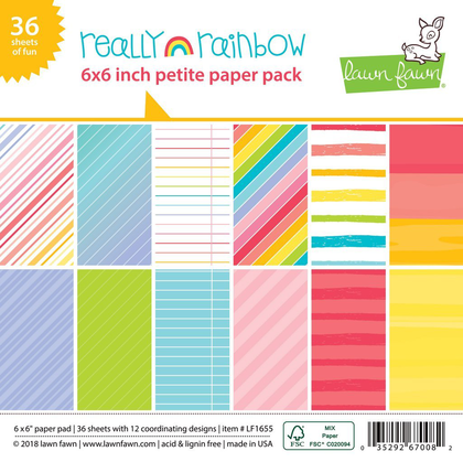 Petite Paper Pack Really Rainbow