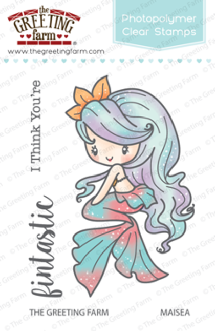 Sellos The Greeting Farm - Maisea Mermaid