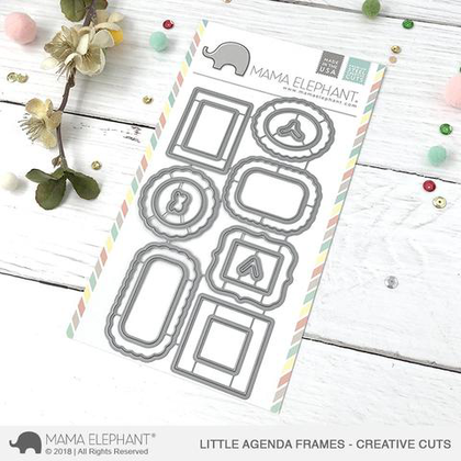 Mama Elephant - Little Agenda Frames - Creative Cuts