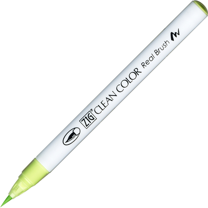 Rotulador Zig Clean Color Real Brush 045 Pale Green