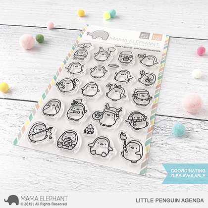 Sellos Mama Elephant - Little Penguin Agenda