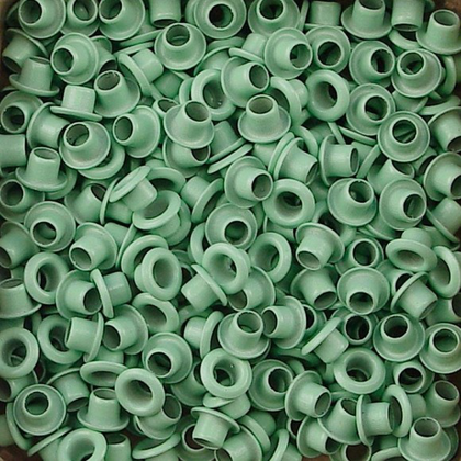 Eyelets light aqua 25 pcs